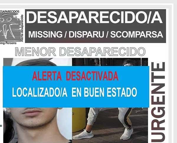 Es localizado en buen estado el menor Xerach Facto Alberto que se encontraba como desaparecido en Adeje, Tenerife