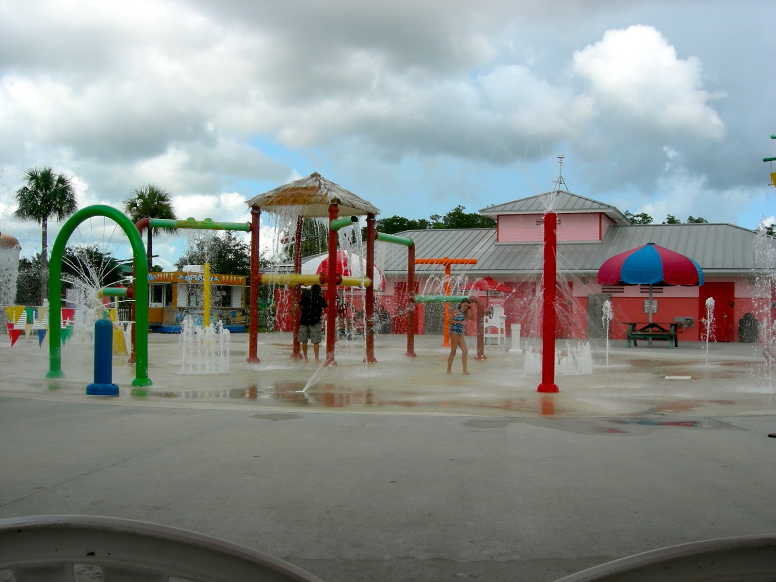 Water Park at Lion Country Safari, Loxahatchee, FL - ouroutdoortravels.blogspot.com