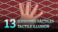 13 ilusiones táctiles con manos, trucos de ciencia-magia