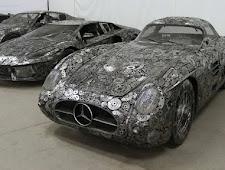 Beberapa Mobil Mewah Yang Terbuat Dari Barang Rongsokan,,,