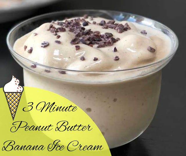 peanut butter banana ice cream recipe