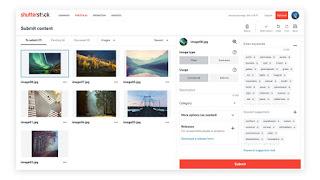 Cómo usar Shutterstock para colaboradores