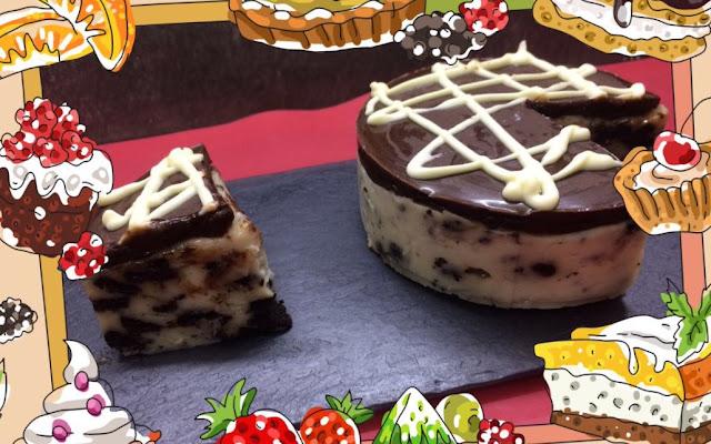 Tarta de Chocolate y crema de Oreo