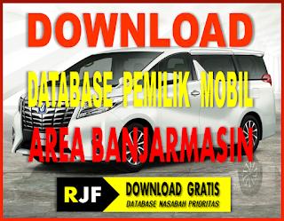 Download Gratis Database Banjarmasin Pemilik Mobil Mewah