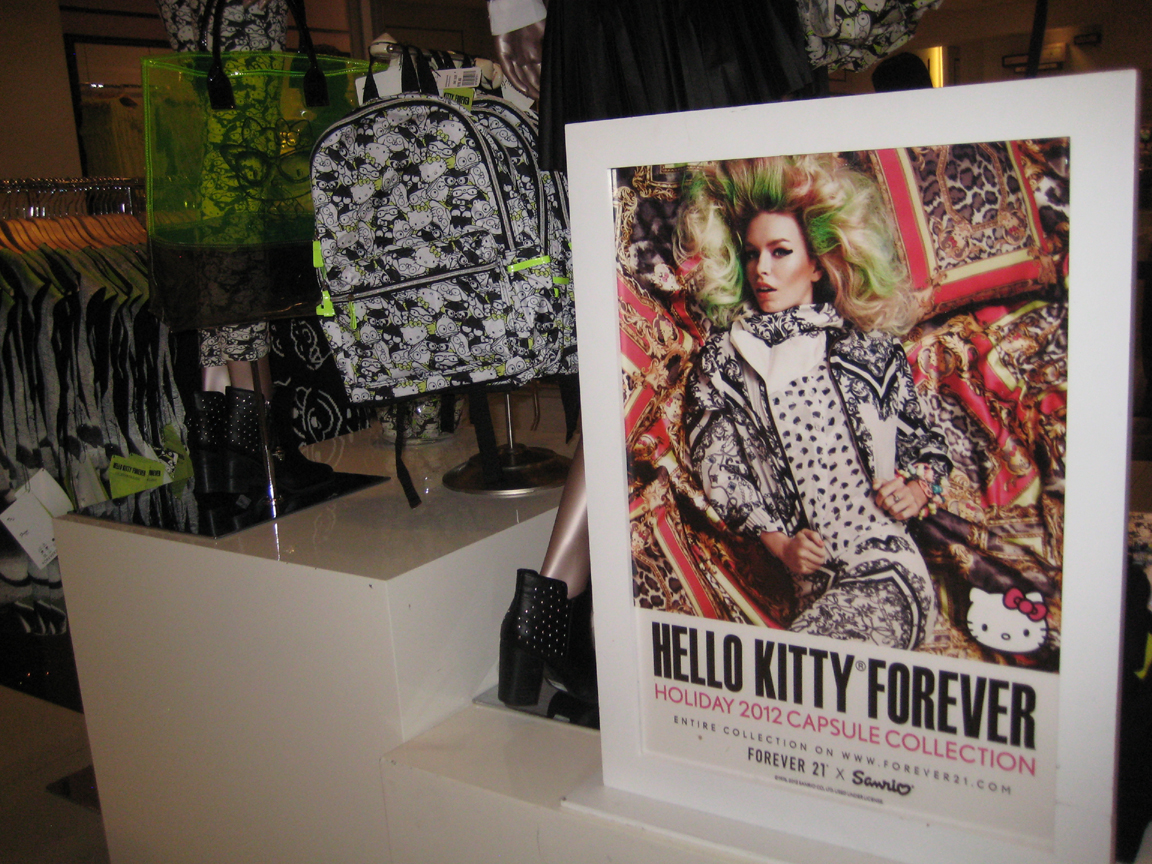 13ed1f9ad2 Mickie's Zoo: Sanrio and Forever 21 launch Hello Kitty Forever