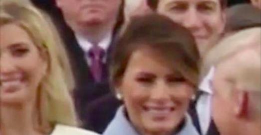 Jalousie ? Voici pourquoi Melania Trump a fait cette tête lors de l'investiture de son mari (Vidéo)