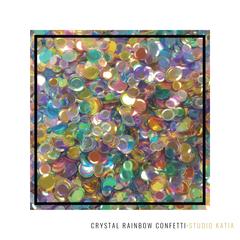 Crystal Rainbow Confetti