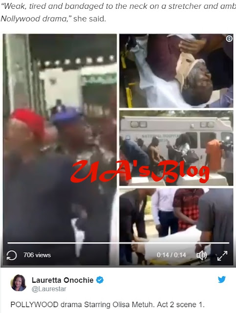 Presidential aide accuses Metuh of faking his illness after appearing in court on stretcher as NBA chief speaks