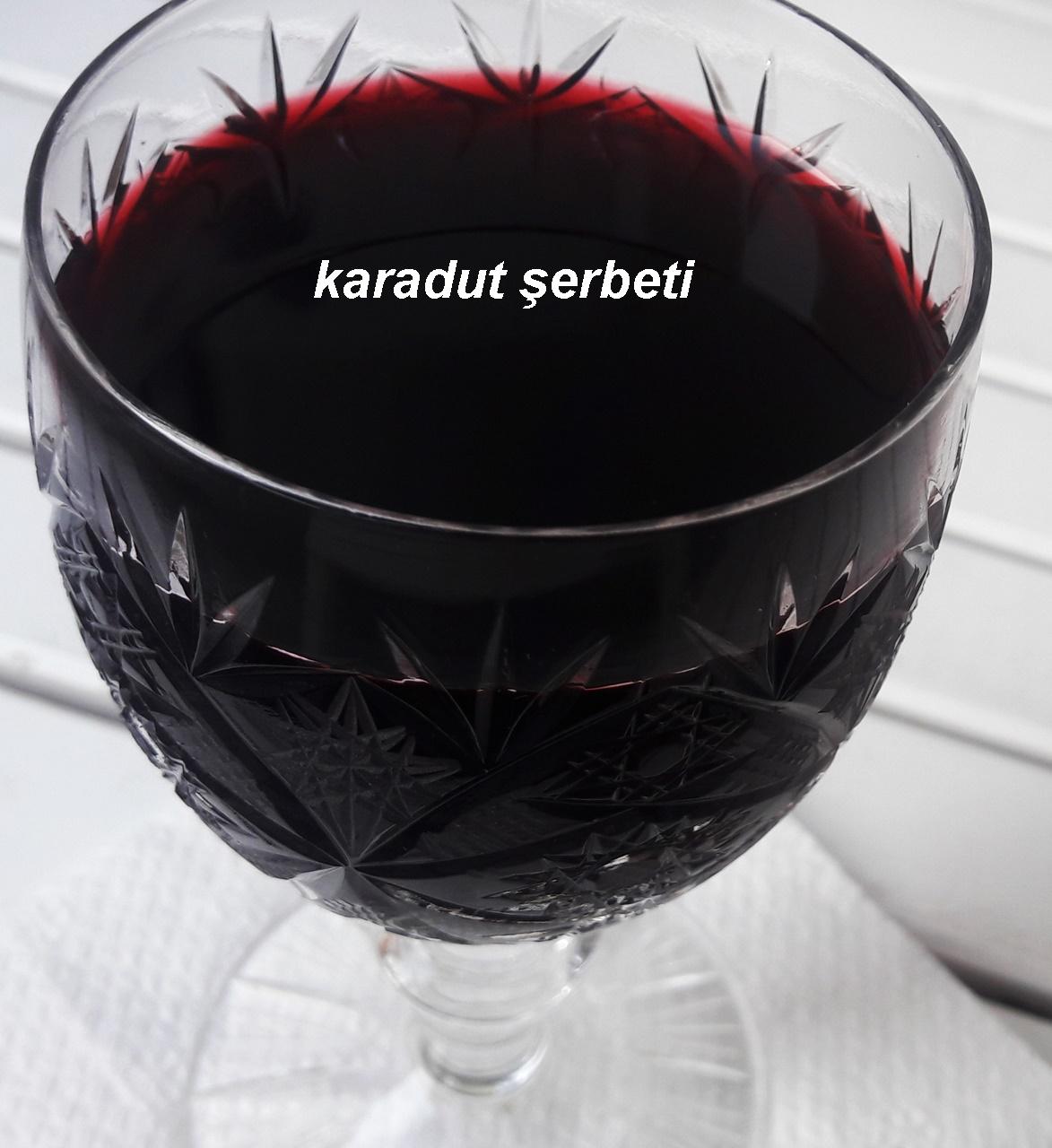 Karadut Şerbeti