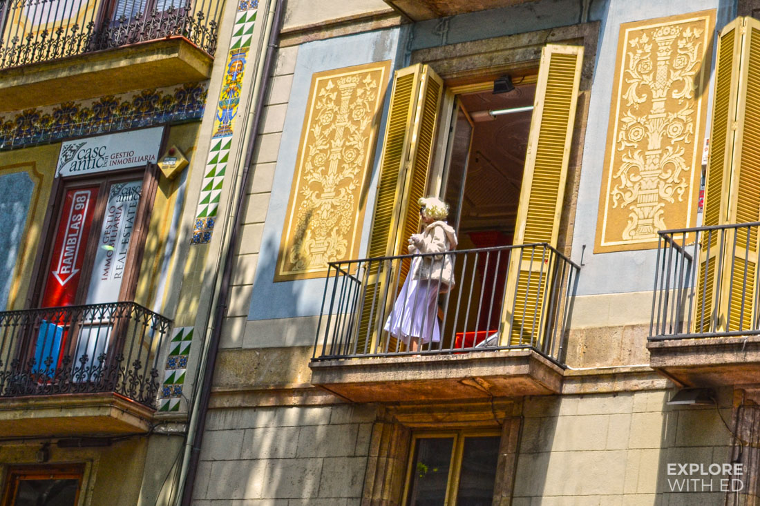 La Rambla Hotels, Marilyn Monroe Impersonator in Barcelona