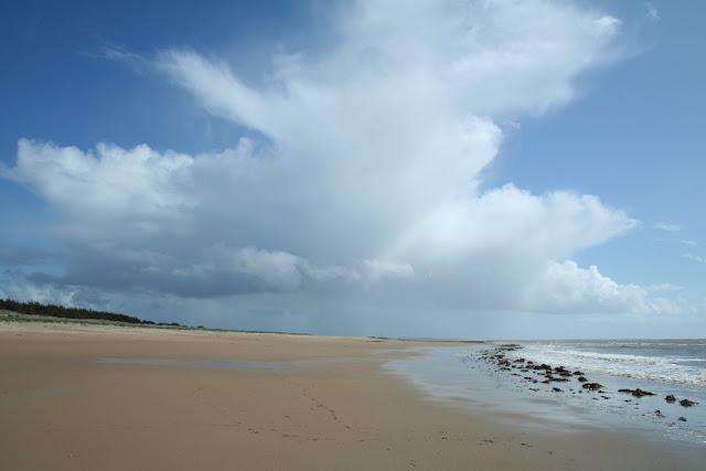 Giboulée en évacuation sur le continent (Noirmoutiers 2012)