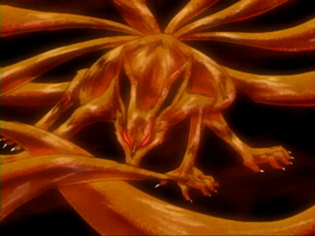 Naruto Nine Tails Wallpaper Hd Mythical Creature Nine Tailed Fox