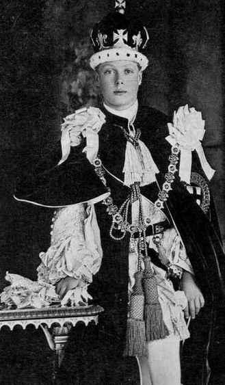 Prince de Galles en 1911