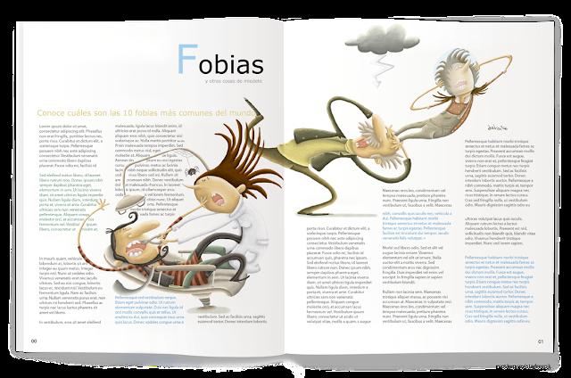 """""""ilustración-fobias-ana sáez del arco-illustration-phobias-magazine"""""""