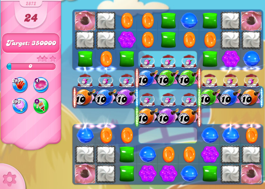 Candy Crush Saga level 2872