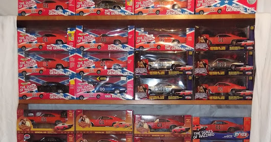 The Entire Line of Dukes of Hazzard 1/18 Diecast Cars - All 40 - Post 4 of 4: JLs and Auto World