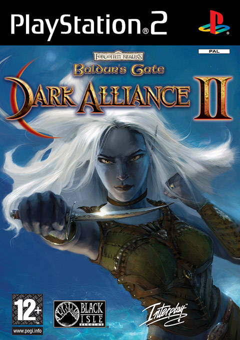 Baldur's Gate Dark Alliance II PAL PS2