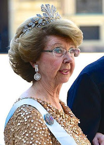 Some very unusual tiaras from Sweden...