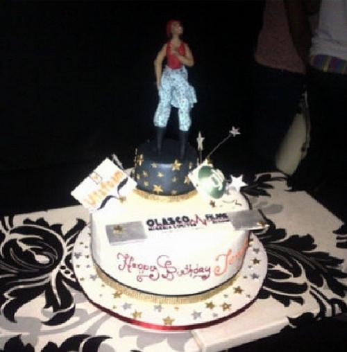 Funke Akindele Gets Surprise 37th Birthday Party In Lekki