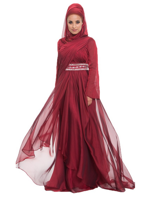contoh baju muslim india modern