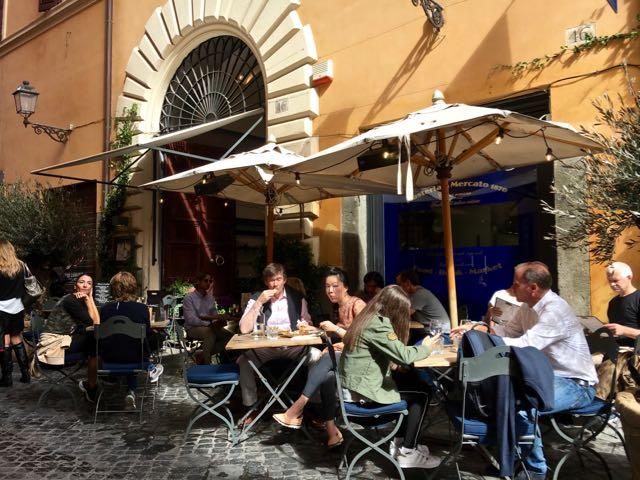 Gillian S Lists Eating In Rome Hosteria Del Mercato 1870