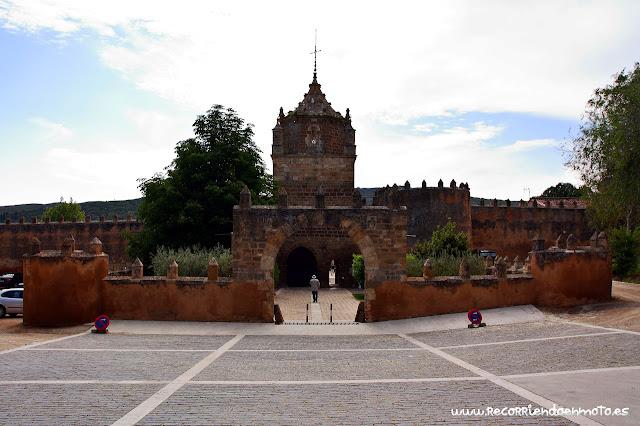 Entrada monasterio de Veruela