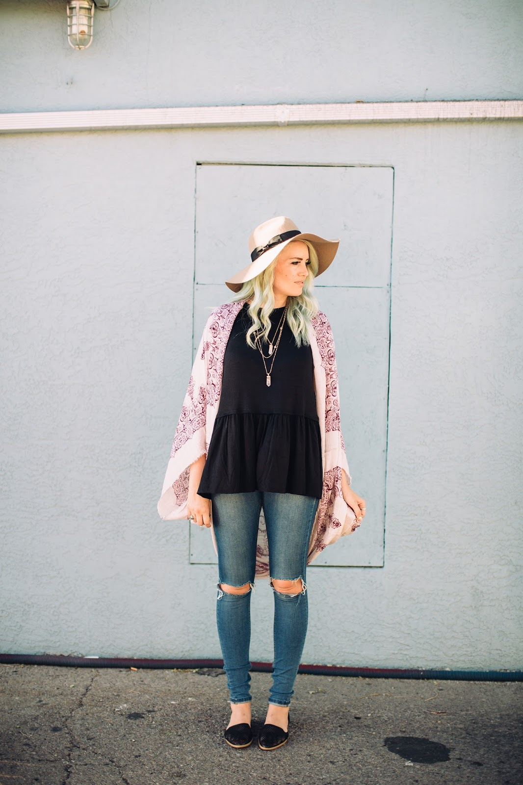 Floppy Hat, Utah Fashion Blogger, Summer Outfit