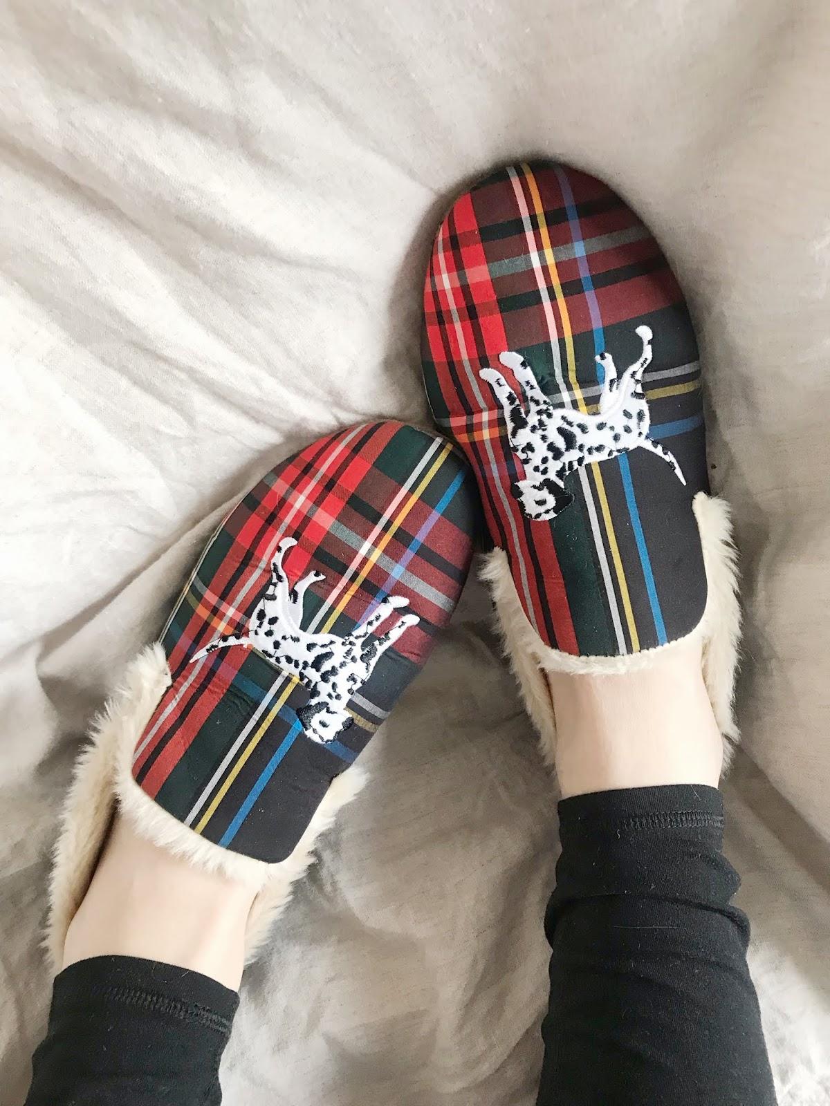 tartan-slippers