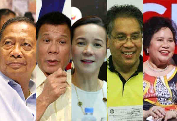 poll election 2016 presidentiables philippines