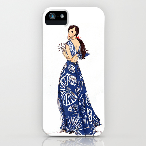 Kitty N. Wong / Emma iPhone Case Society 6