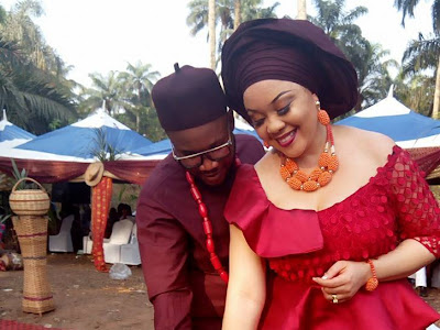 Nnamdi Kanu's younger brother marries an IPOB member  (Pictures)