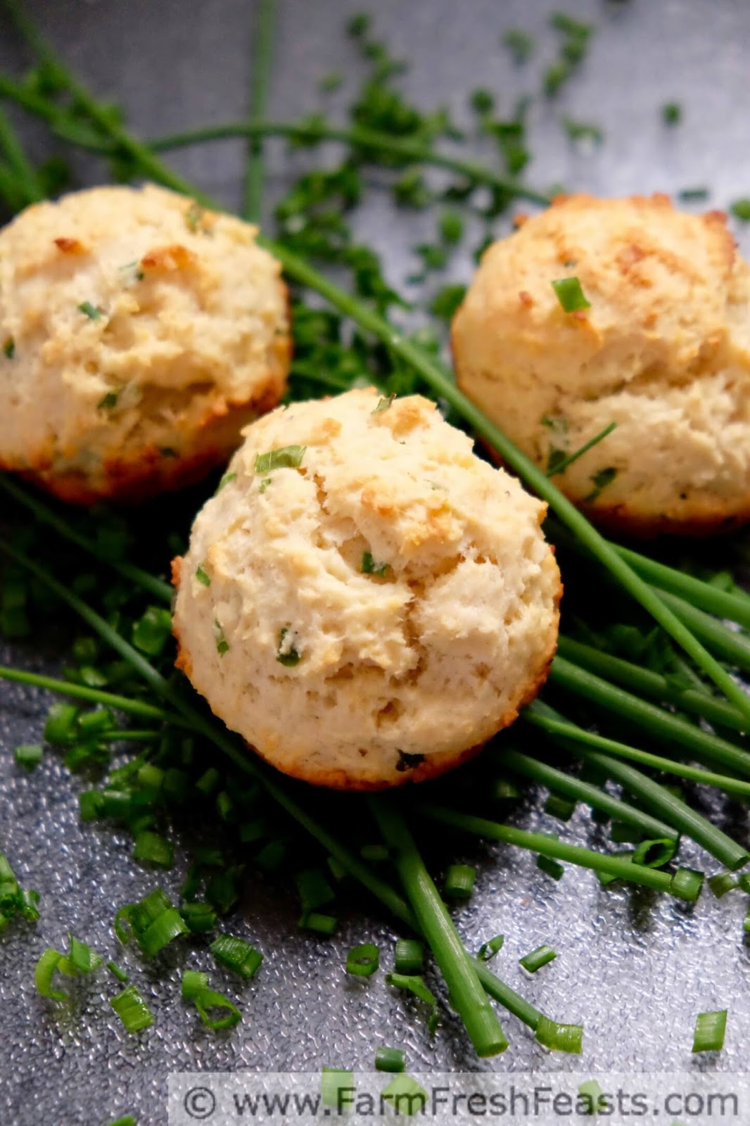 Creamy Ricotta Cheese And Fresh Chives Are The Highlight Of These Savory Muffins Adding Potato