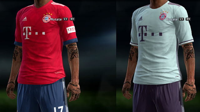 huge selection of 5d70f 95c01 PES 2013 FC Bayern Munich Full GDB Kits 2018/2019 - Micano4u ...
