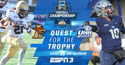 Round 1 of the 2017 FCS Playoffs: Lehigh vs. New Hampshire!