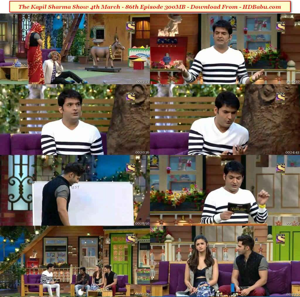 The Kapil Sharma Show Episode 86