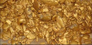 Золоті самородки зустрічаються в україні