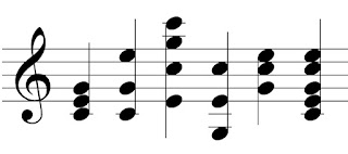 Various chord voicings