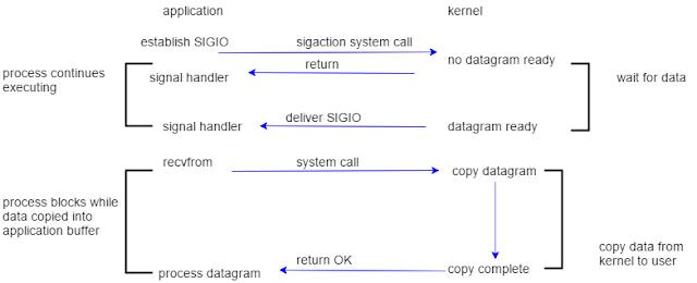 Signal Driven I/O Model