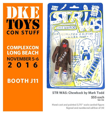 Complex Con 2016 Exclusive STR WAS Chewback Star Wars Resin Figure by Mark Todd x DKE Toys