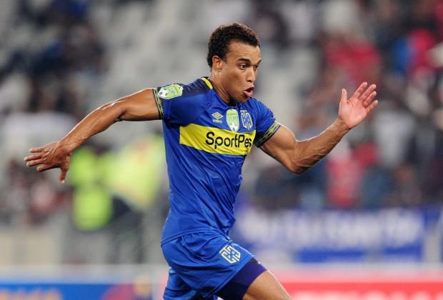 Cape Town City forward Matthew Rusike