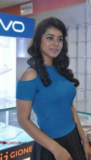 Telugu Actress Yamini Bhaskar Latest Pos in Blue Top and Black Skirt  0016.jpg