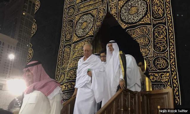 Kisah PM Najib Razak, Masuk Kabah Sebelum Kalah Pemilu dan Jadi Pesakitan