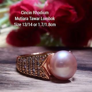 Harga Grosir Cincin Mutiara Lombok