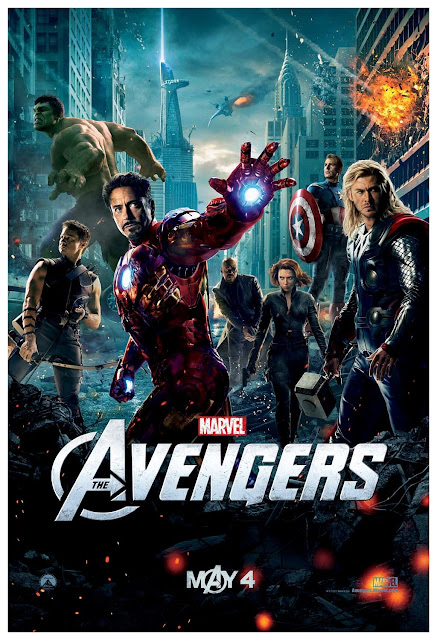 Film poster The Avengers 2012 movieloversreviews.filminspector.com