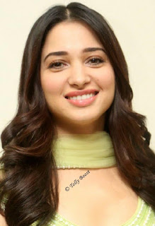 Telugu Actress Tamannaah Beautiful Long Hair Face Closeup (2)