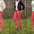 Peach Jeans Outfit Ideas