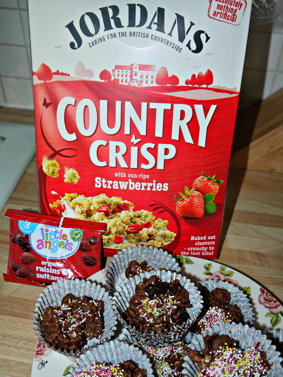 Chocolate Crispy Crackle Cakes