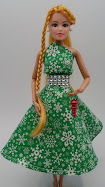 DIY Barbie Blog: holiday dress -free pattern