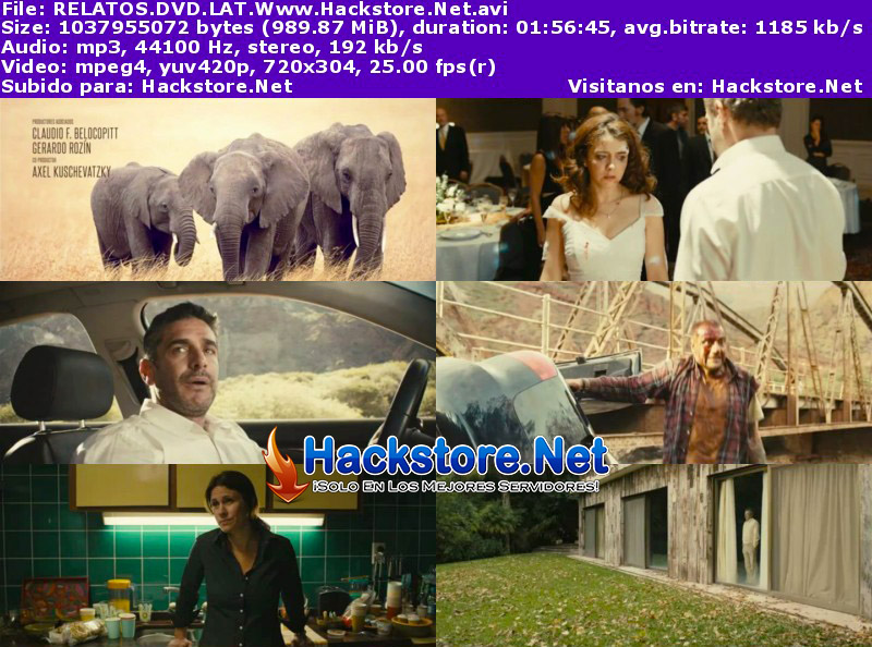 Capturas de Relatos Salvajes (2014) DVDRip Latino