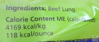 ingredients: beef lung